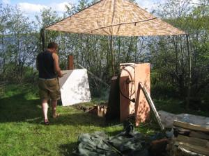 Spit Site pre-lamb